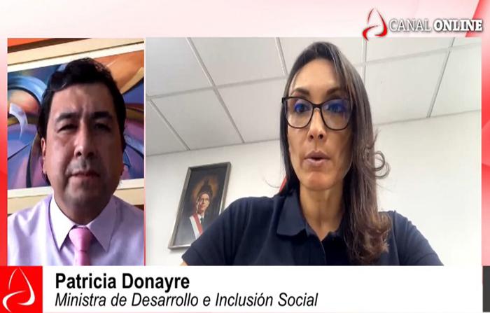 Entrevista a Patricia Donayre, Ministra de Desarrollo e Inclusión Social