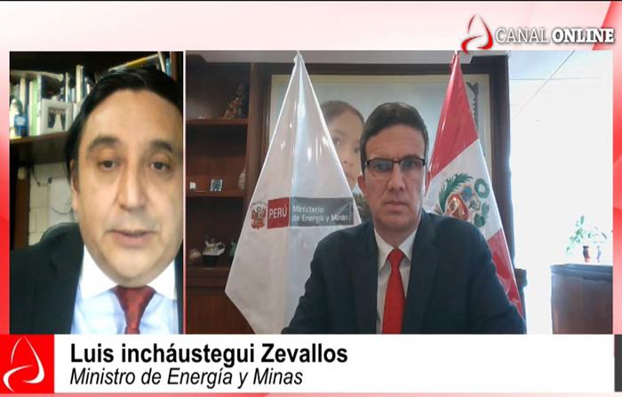 Entrevista al ministro de Energìa y Minas, Luis Incháustegui