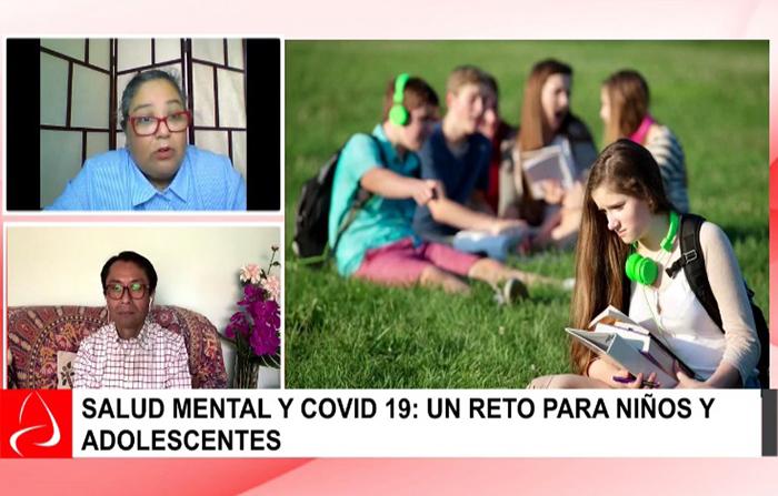 Salud mental y covid 19: un reto para niños y adolescentes