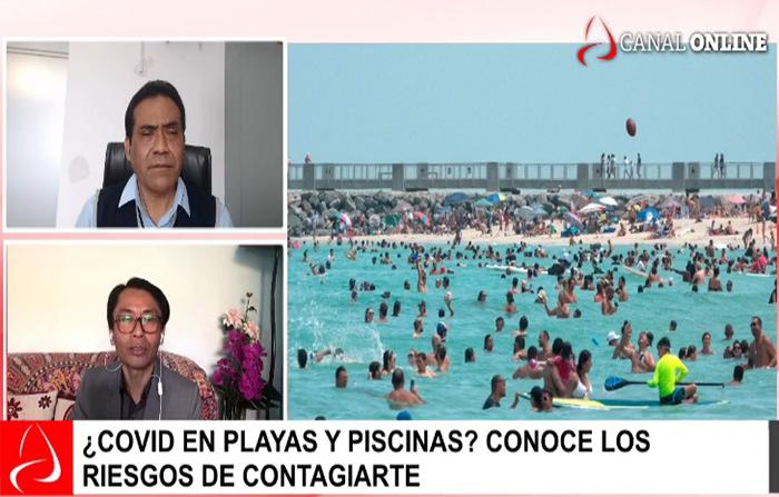 ¿Covid en playas y piscinas? Conoce los riesgos de contagiarte