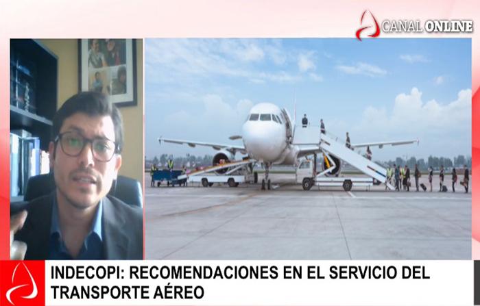 Indecopi: recomendaciones en el servicio del transporte aéreo