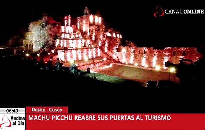 EN VIVO: Machu Picchu reabre sus puertas al turismo