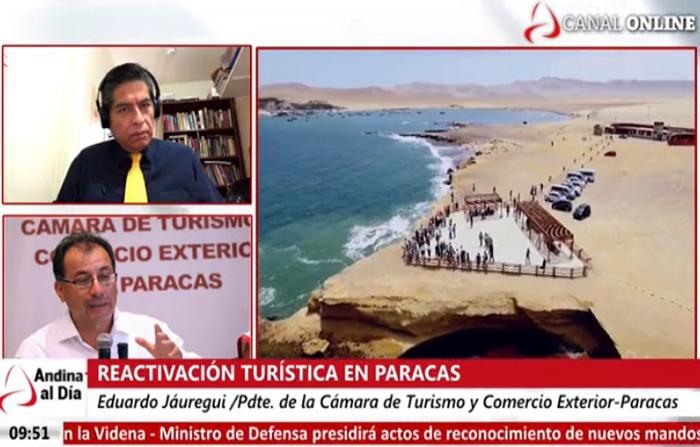 EN VIVO: Paracas se prepara para la reactivación turística