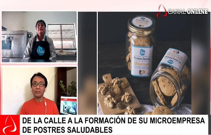 Reinvéntate Perú: la historia de Cristina Ricra, vendía en la calle, hoy tiene su propia empresa.