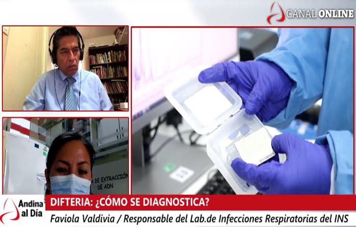 EN VIVO: Difteria: ¿cómo se diagnóstica?