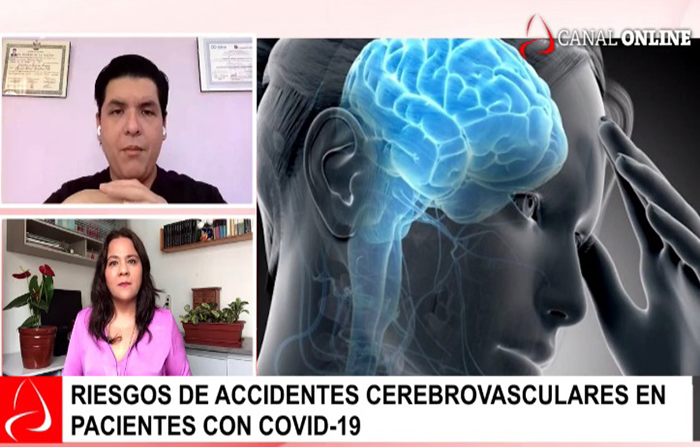 Riesgos de accidentes cerebrovasculares en pacientes con covid-19