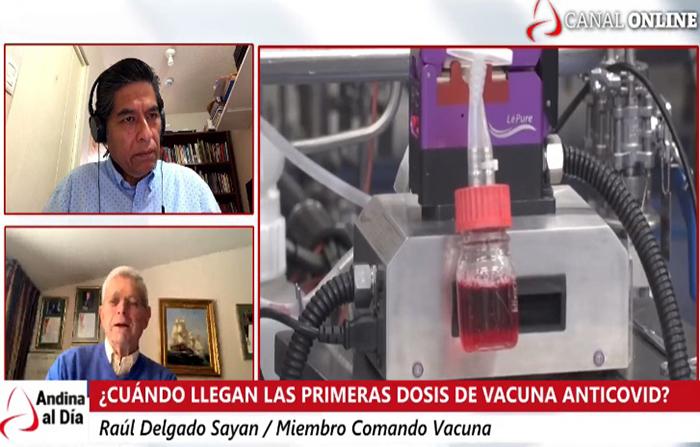 EN VIVO: Vacuna contra covid-19 ¿Cuándo llegarán primeras dosis?