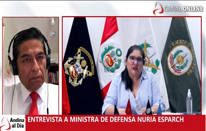 EN VIVO: Entrevista con ministra de Defensa Nuria Esparch