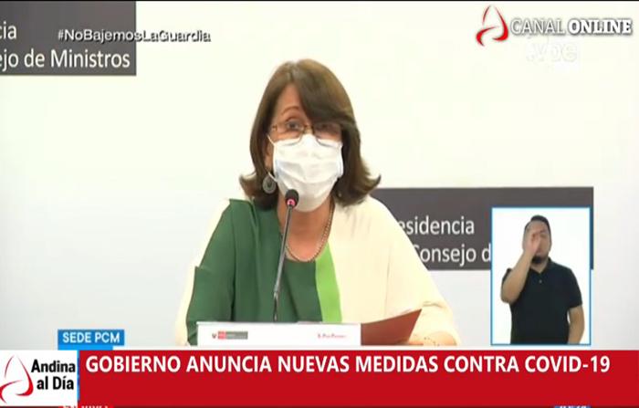 EN VIVO: ÚLTIMO MINUTO Gobierno anuncia nuevas medidas