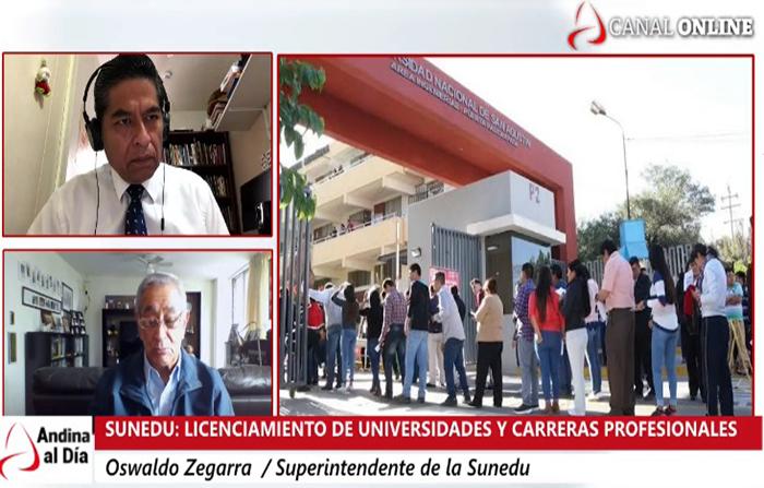Licenciamiento de universidades y carreras profesionales