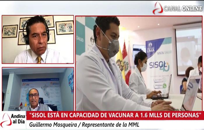 EN VIVO: Vacuna contra covid-19: cómo apoyará Sisol al proceso de vacunación
