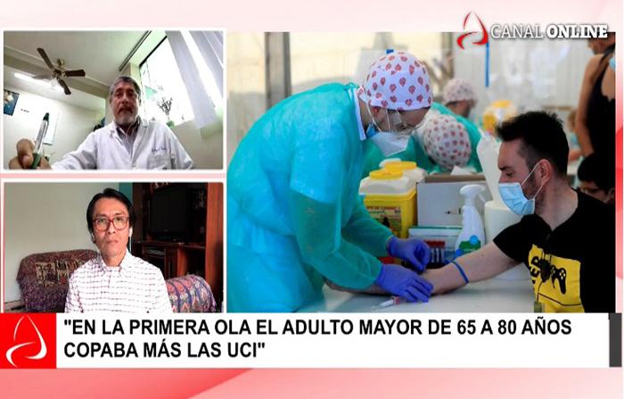 Coronavirus: pacientes más jóvenes ingresan a UCI