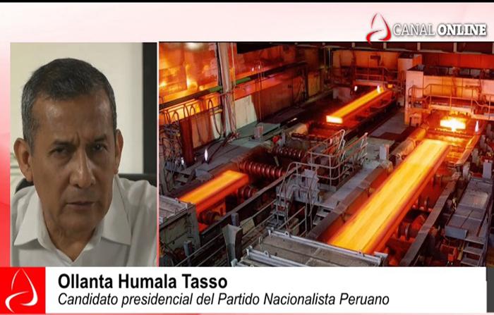 ELECCIONES 2021: OLLANTA HUMALA TASSO, CANDIDATO DEL PARTIDO NACIONALISTA PERUANO