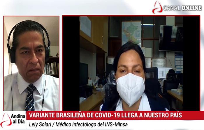 EN VIVO: Variante brasileña de covid-19 llega a nuestro país