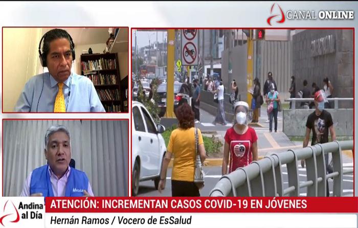 EN VIVO: ATENCIÓN incrementan casos covid-19 en jóvenes