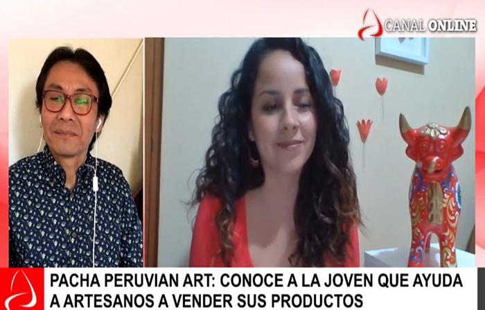 EN VIVO: Pacha Peruvian Art emprendimiento que ayuda a artesanos