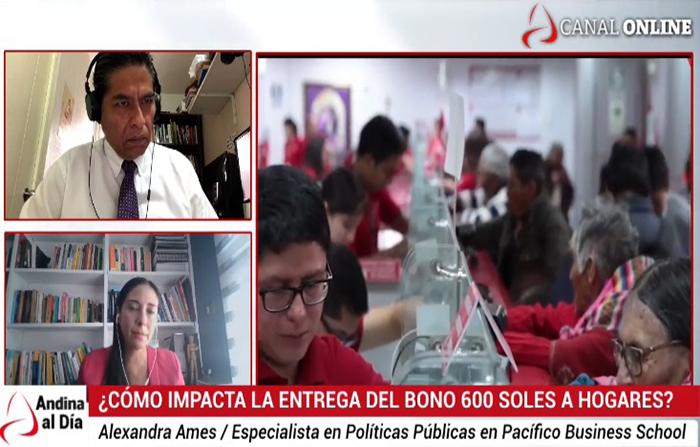 EN VIVO: ¿Cómo impacta la entrega del Bono 600 Soles a hogares?