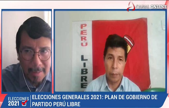 Elecciones 2021: Pedro Castillo, Candidato presidencial de Perú Libre