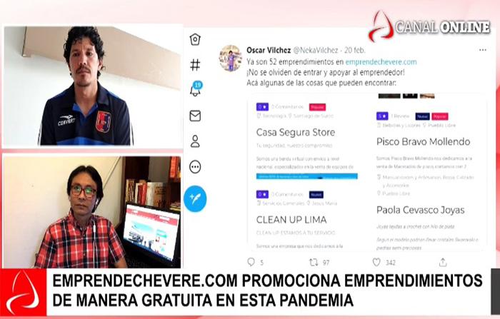 Reinvéntate Perú: Futbolista Óscar Vílchez inspirado en la cuarentena