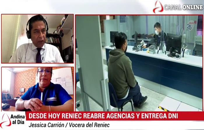 EN VIVO: RENIEC reabre agencias a nivel nacional y entrega DNI por citas