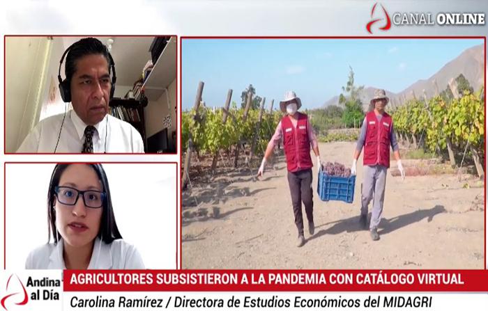 EN VIVO: ¿Cómo subsistieron los agricultores peruanos durante la pandemia?