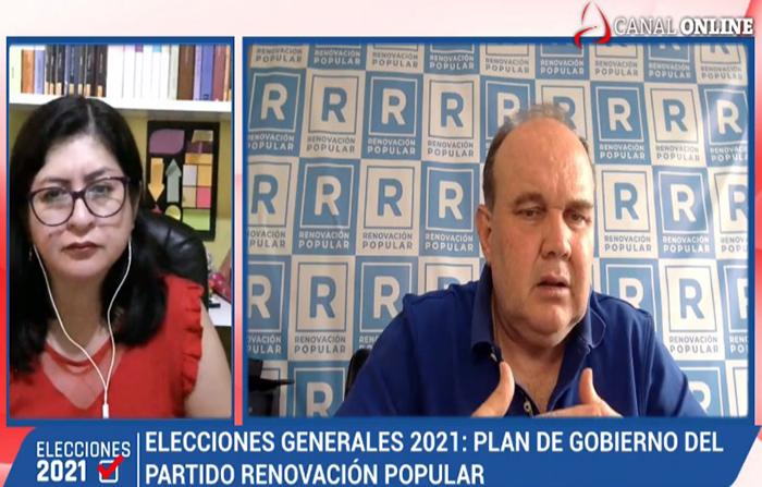 Elecciones 2021: Entrevista a Rafael López Aliaga, candidato presidencial del Partido Renovación Popular