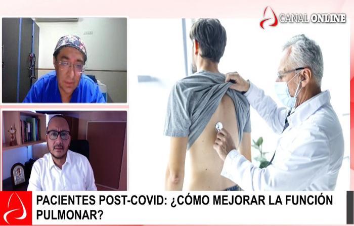 Pacientes post-covid: ¿Cómo mejorar la función pulmonar