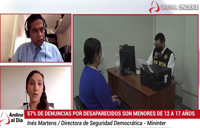 """EN VIVO: Inician campaña """"Por un Perú seguro sin historias desaparecidas"""""""