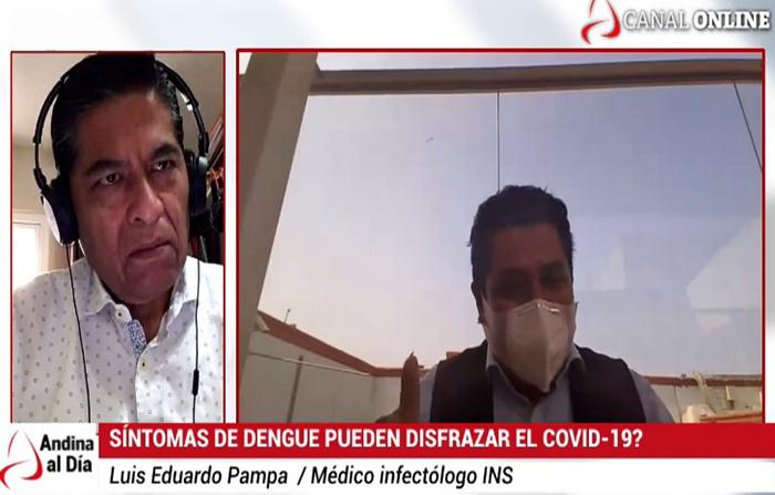 EN VIVO: ¿Tiene el dengue similitud de síntomas con el covid-19