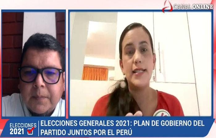 Entrevista a Verónika Mendoza
