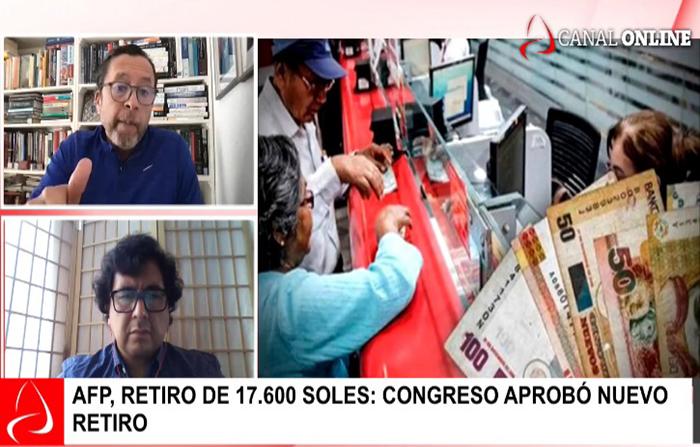 AFP: Hasta S/ 17,600 de los fondos de pensiones podrán retirarse voluntariamente