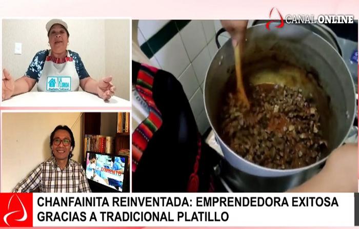 Reinvéntate Perú: Tradicional Chanfainita convierte en emprendedora a una familia