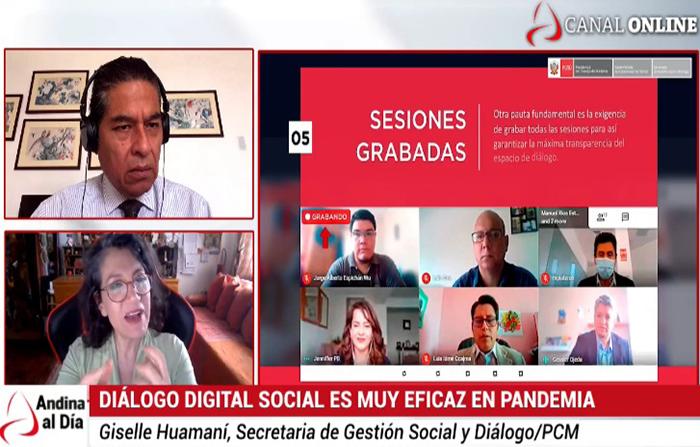 EN VIVO: Conoce el protocolo de diálogo social digital