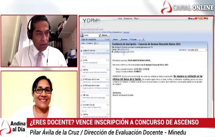 EN VIVO: Vence inscripción a concurso ascensos de docentes
