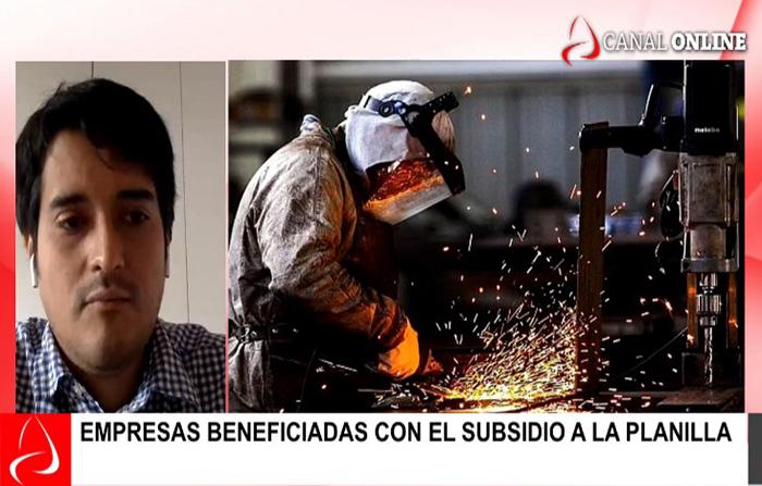 Economika: Empresas beneficiadas con el subsidio a la planilla