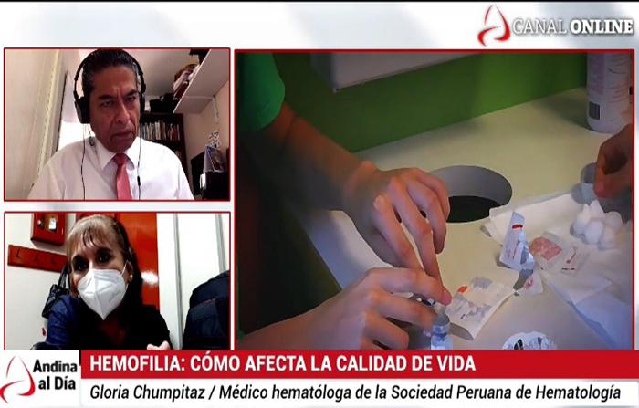 EN VIVO: 3 mil peruanos padecen de hemofilia