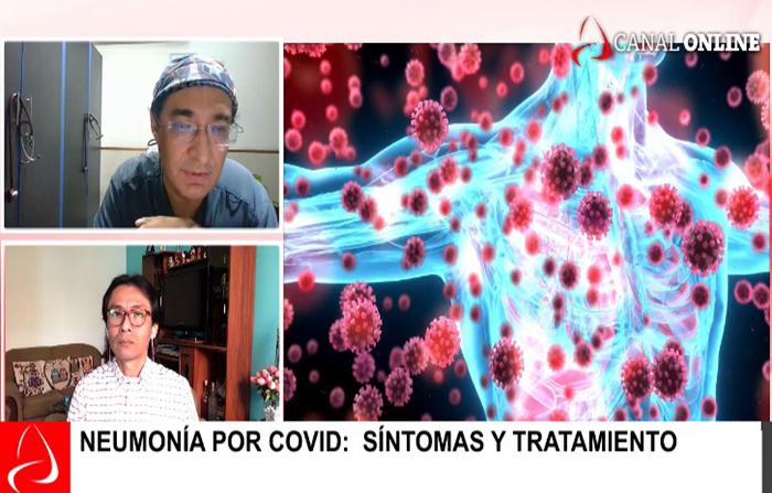 Neumonía por covid: síntomas y tratamiento