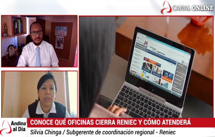 EN VIVO: Agencias de Reniec que cierran en ciudades de nivel extremo