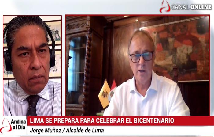 EN VIVO: Cómo se prepara Lima para celebrar el Bicentenario del Perú