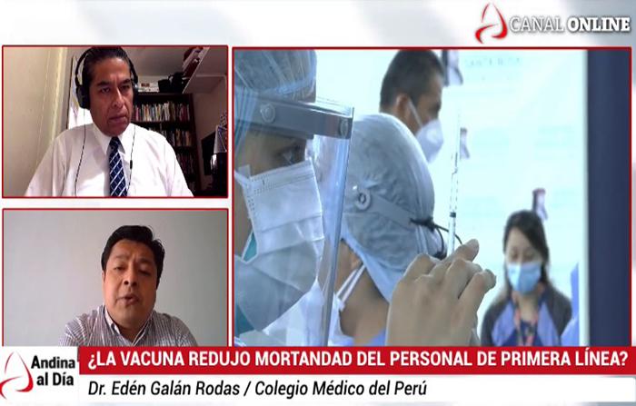 EN VIVO: ¿Bajó letalidad tras la vacuna en el personal de Salud?
