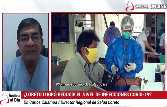 EN VIVO: Loreto logra disminuir casos covid-19