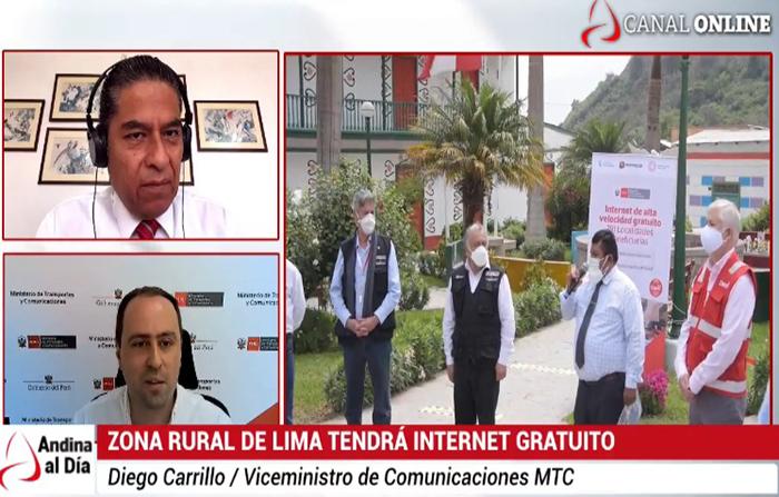 """EN VIVO: Plan """"Todos Conectados"""" dará internet a zonas rurales"""