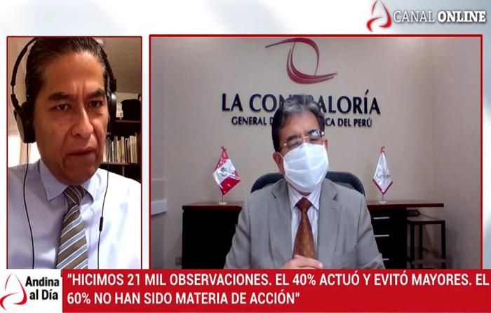"""EN VIVO: Presentan informe """"Control en la pandemia por la COVID-19"""""""