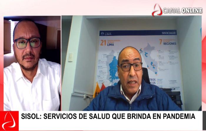 Sisol: Servicios de salud que brinda en pandemia