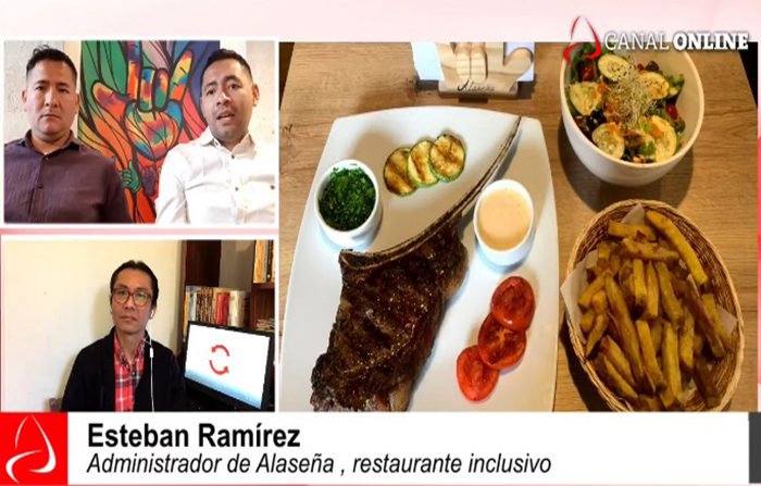 Desde Arequipa, conoce Alaseña, el primer restaurante para sordos.