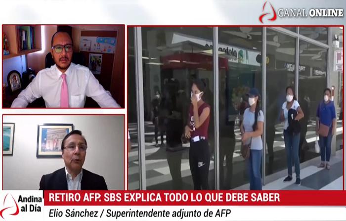 EN VIVO: SBS Explica cómo retirar 4 UIT de la AFP