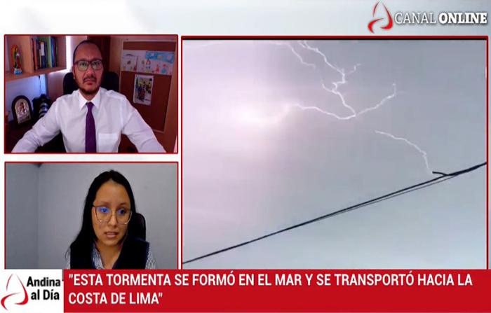EN VIVO: Inusual evento atmosférico despertó Lima