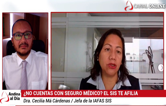 EN VIVO: Todo peruano tiene derecho a afiliarse al SIS