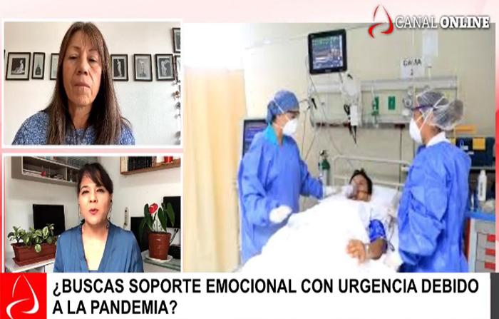 Soporte emocional frente a casos por la pandemia