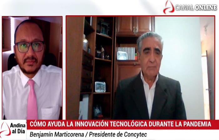 EN VIVO: Concytec anuncia la Semana Nacional de Innovación en junio